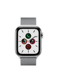 Srebrny zegarek APPLE casualowy
