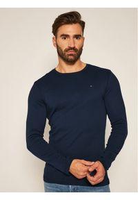 Tommy Jeans Longsleeve DM0DM04409 Granatowy Slim Fit. Kolor: niebieski. Długość rękawa: długi rękaw