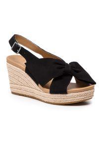 Czarne sandały Ugg na co dzień, casualowe