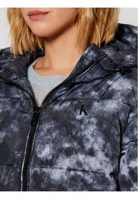 Niebieska kurtka zimowa Calvin Klein Jeans