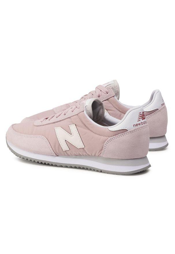 Różowe buty sportowe New Balance z cholewką