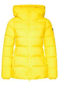 Żółta kurtka zimowa Hetrego