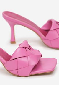 Różowe klapki Renee