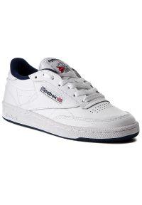 Białe buty sportowe Reebok z cholewką, Reebok Club