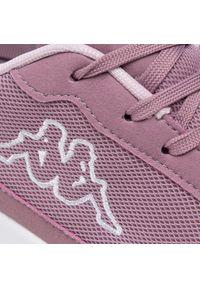 Kappa - Sneakersy KAPPA - Follow Nc 242495 Lila/White 2310. Okazja: na co dzień. Kolor: fioletowy. Materiał: skóra ekologiczna, materiał. Szerokość cholewki: normalna. Styl: casual