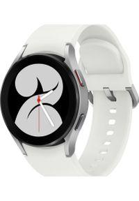 SAMSUNG - Smartwatch Samsung Galaxy Watch 4 Aluminum 40mm Biały (SM-R860NZSAEUE). Rodzaj zegarka: smartwatch. Kolor: biały