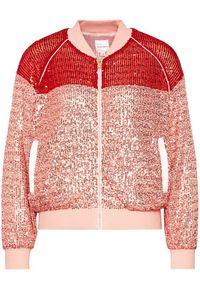Różowa kurtka przejściowa Silvian Heach