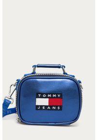Niebieska nerka Tommy Jeans gładkie