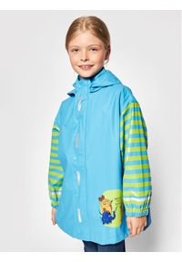 Playshoes Kurtka przeciwdeszczowa 408506 D Niebieski Regular Fit. Kolor: niebieski