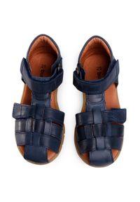 Niebieskie sandały Bundgaard na lato, klasyczne