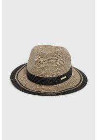 Czarny kapelusz Lauren Ralph Lauren
