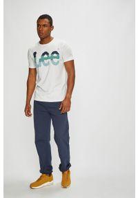 Niebieskie spodnie dresowe Kappa