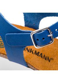 Niebieskie sandały Dr. Brinkmann