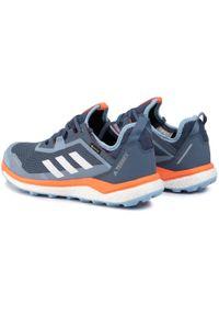 Niebieskie buty do biegania Adidas Gore-Tex, na co dzień, z cholewką, Adidas Terrex
