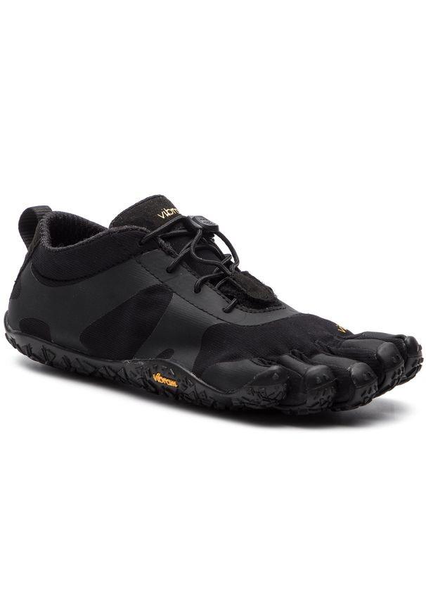 Czarne buty do fitnessu Vibram Fivefingers Vibram FiveFingers, z cholewką, na płaskiej podeszwie
