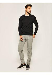 BOSS - Boss Spodnie materiałowe Delaware3-9-20 50425138 Szary Slim Fit. Kolor: szary. Materiał: materiał