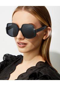 Dior - DIOR - Okulary InsideOut 1. Kolor: czarny. Wzór: gradientowy