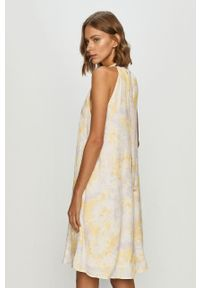 Fioletowa sukienka Vila mini, prosta, casualowa #5