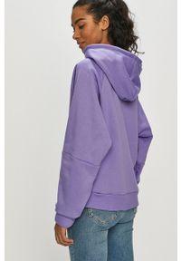 Bluza Reebok z nadrukiem, raglanowy rękaw, z kapturem