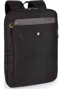 Czarny plecak na laptopa GABOL