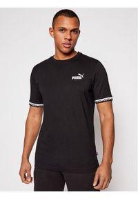 Puma T-Shirt Amplified 585778 Czarny Regular Fit. Kolor: czarny