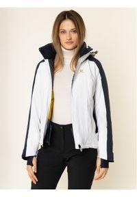 Biała kurtka sportowa salomon narciarska