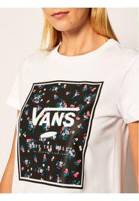 Biały t-shirt Vans