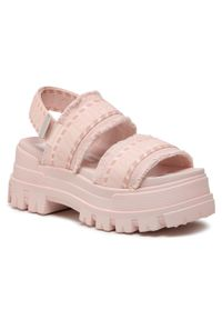 Różowe sandały Buffalo