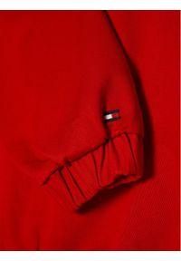 TOMMY HILFIGER - Tommy Hilfiger Kurtka przejściowa KB0KB06454 D Czerwony Regular Fit. Kolor: czerwony