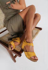 Żółte sandały Renee