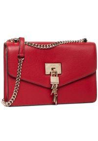 Czerwona torebka DKNY elegancka