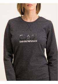 Szara bluza EA7 Emporio Armani