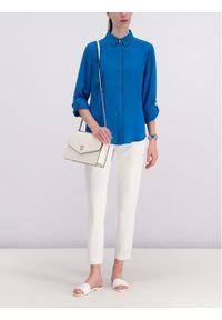 Niebieska koszula DKNY