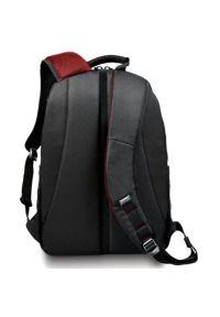 Czarny plecak na laptopa PORT DESIGNS w paski