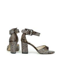 Sandały Zapato wąskie, w kolorowe wzory