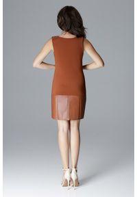 Sukienka mini, casualowa, prosta, na imprezę