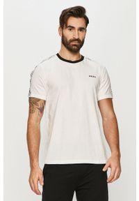 DKNY - Dkny - T-shirt piżamowy. Kolor: biały