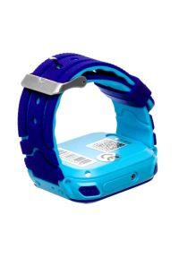 Niebieski zegarek GARETT smartwatch, casualowy
