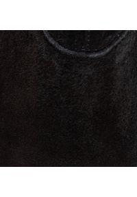Czarne botki Gino Rossi na obcasie, na średnim obcasie