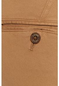 Beżowe spodnie s.Oliver gładkie