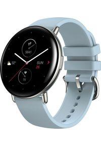AMAZFIT - Smartwatch Amazfit Zepp E Round Niebieski (xiaomi_20201209155711). Rodzaj zegarka: smartwatch. Kolor: niebieski