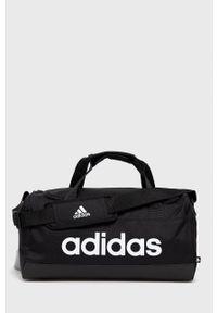 Adidas - adidas - Torba. Kolor: czarny. Materiał: poliester. Wzór: nadruk