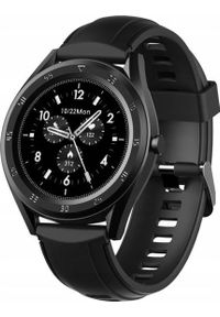 Smartwatch King Watch W10 Czarny (3158-uniw). Rodzaj zegarka: smartwatch. Kolor: czarny