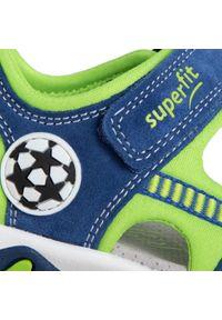 Niebieskie sandały Superfit klasyczne, na lato