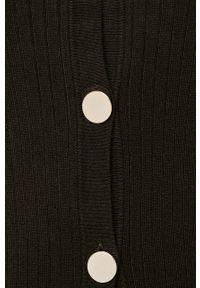Czarny sweter rozpinany Morgan