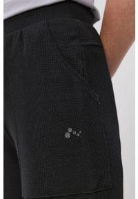 Only Play - Spodnie. Kolor: czarny. Materiał: wiskoza, dzianina, poliester. Wzór: gładki #3