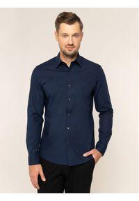 Niebieska koszula biznesowa Michael Kors
