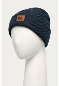 Niebieska czapka Quiksilver z aplikacjami