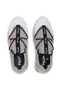 Szare buty sportowe Pollini
