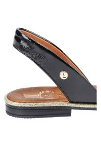 Czarne sandały Lemar